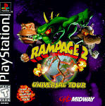 Rampage 2: Universal Tour PSX