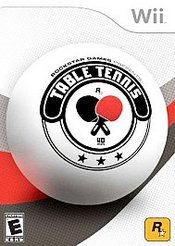 Rockstar Games presents Table Tennis Wii