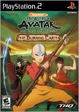 Avatar: The Burning Earth PS2
