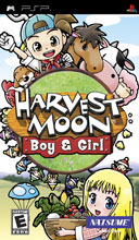 Harvest Moon: Boy &amp;amp; Girl PSP