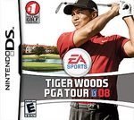 Tiger Woods PGA Tour 08 DS