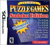 Ultimate Puzzle Games: Sudoku Edition DS