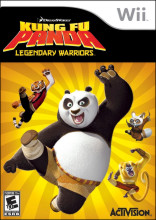 Kung Fu Panda Legendary Warriors Wii
