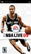 NBA Live 09 PSP