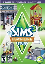 The Sims 3: Town Life Stuff PC