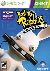 Raving Rabbids: Alive and Kicking Xbox 360