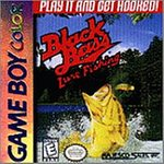 Black Bass Lure Fishing Game Boy