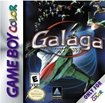 Galaga: Destination Earth Game Boy