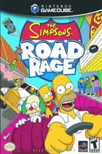 The Simpsons: Road Rage GameCube