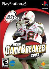 NCAA GameBreaker 2003 PS2