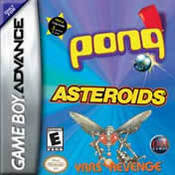 Pong / Asteroids / Yar's Revenge GBA