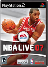 NBA Live 07 PS2