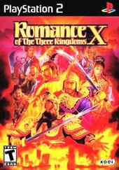 Romance of the Three Kingdoms X PS2