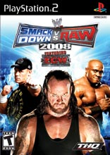 WWE SmackDown vs. Raw 2008 PS2